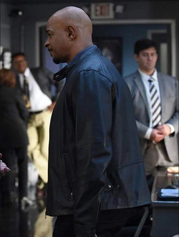 Roger Murtaugh Lethal Weapon TV Series Black Jacket