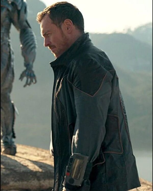Lost in Space Leather Toby Stephens Jacket