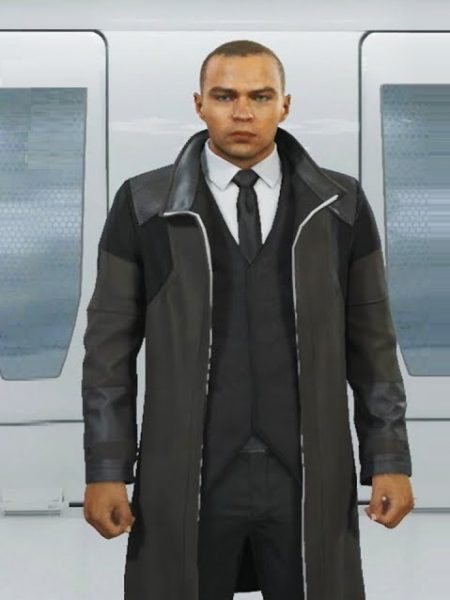 Markus Detroit Become Human Trench Leather Coat