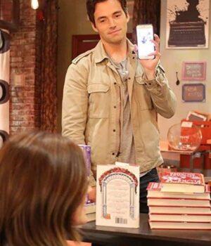 Ezra Fitz Pretty Little Liars TV Series Cotton Beige Jacket