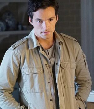Ezra Fitz Pretty Little Liars TV Series Cotton Jacket