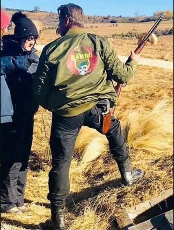 Rambo Last Blood Sylvester Stallone Bomber Jacket