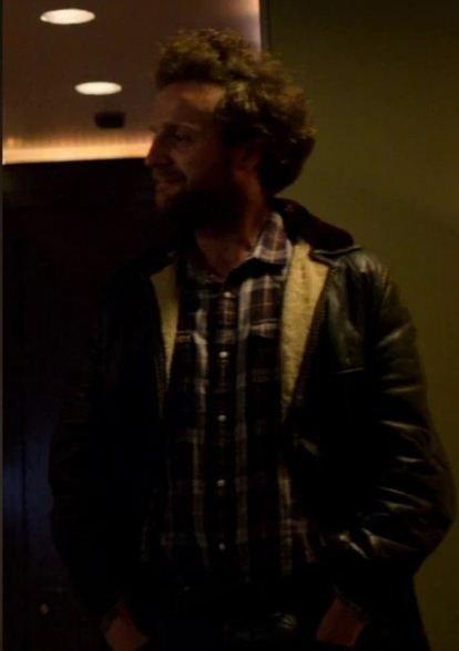 Rob Black Mirror Leather jacket