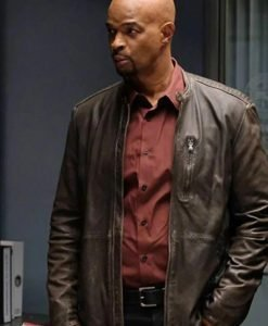 Roger Murtaugh Leather Brown Jacket
