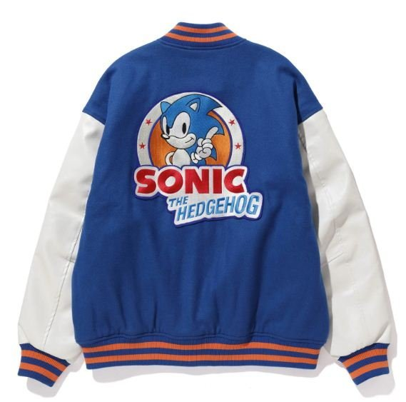 Sonic the Hedgehog Cotton Blue Jacket