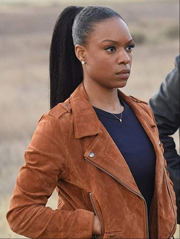Lethal Weapon Sonya Bailey Suede Jacket