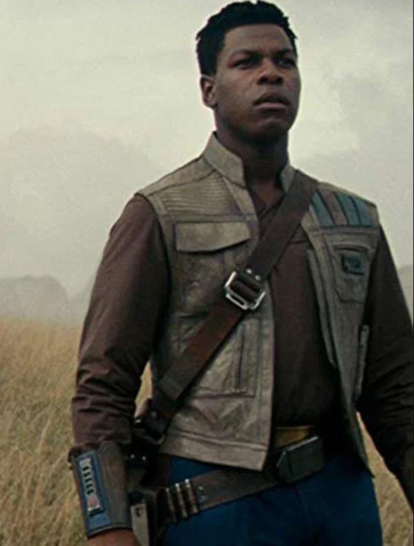 Finn Star Wars The Rise of Skywalker Leather Vest