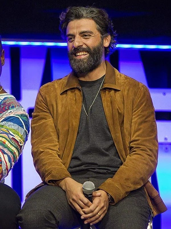 Oscar Isaac Star Wars The Rise of Skywalker Suede Jacket