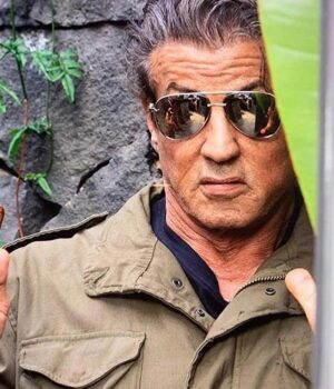 Sylvester Stallone Rambo Last Blood Cotton jacket