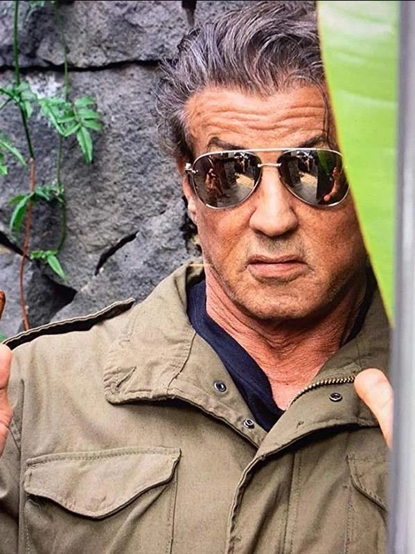 Sylvester Stallone Rambo Last Blood Cotton jacket