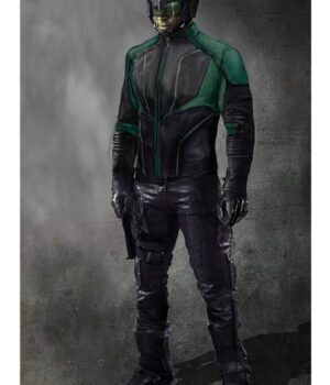 Spartan TV Series Arrow Green Jacket