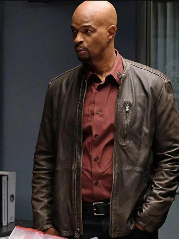 TV series Lethal Weapon Roger Murtaugh Brown Jacket