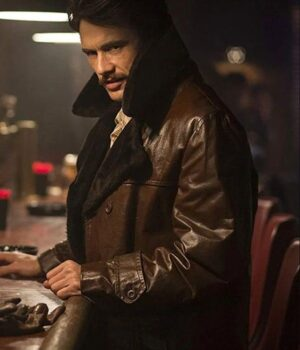 The Deuce James Franco Leather Coat