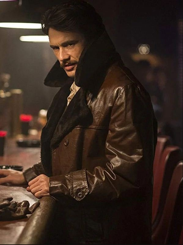 The Deuce James Franco Leather Coat