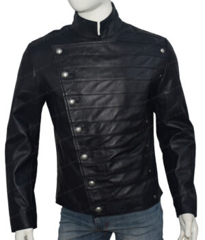Westworld Hector Escaton Leather Jacket Front