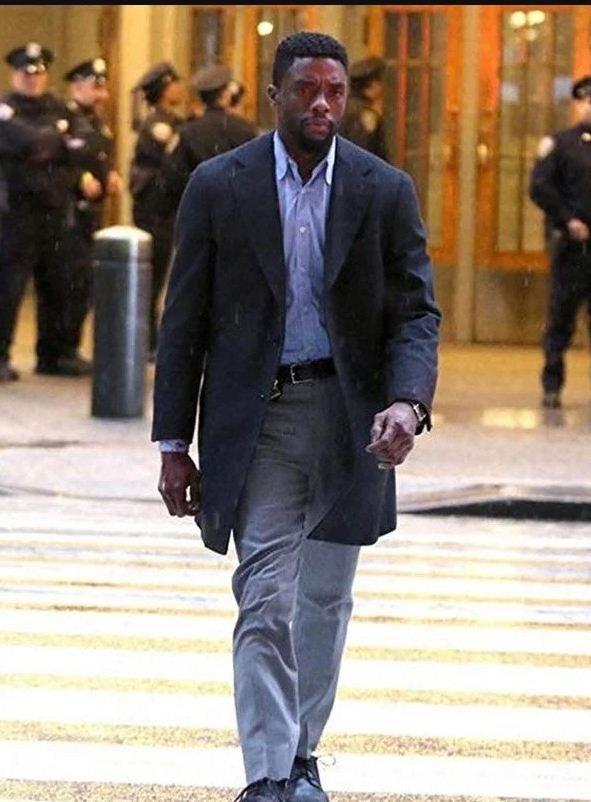 Andre Davis 21 Bridges Black Coat