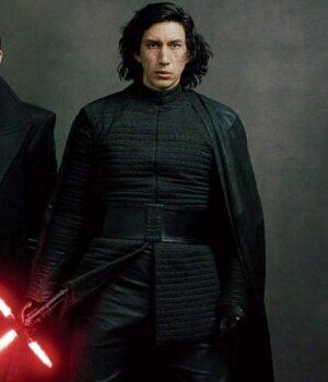 Star Wars The Last Jedi Adam Driver Black Jacket