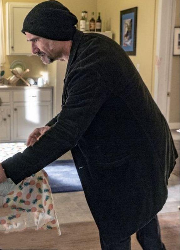 Elias Koteas Chicago PD Wool Black Blazer