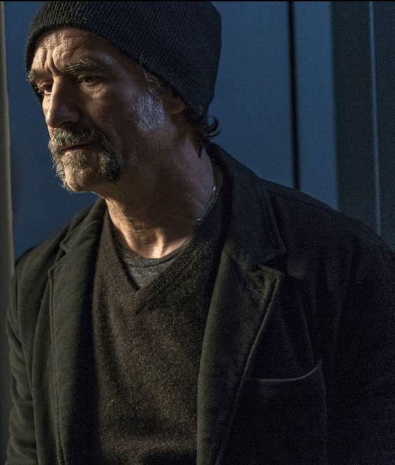 TV Series Chicago PD Elias Koteas Black Blazer
