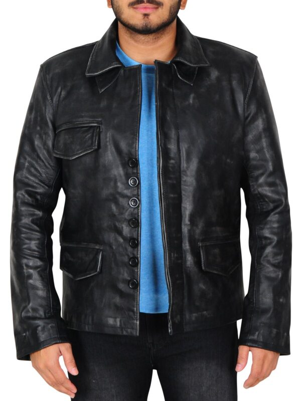 Ricky Whittle American Gods Black Jacket