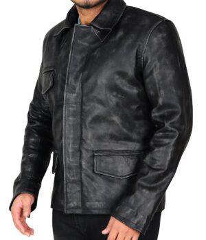 Ricky Whittle American Gods Leather Jacket