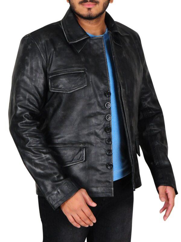 Shadow Moon American Gods Leather Jacket
