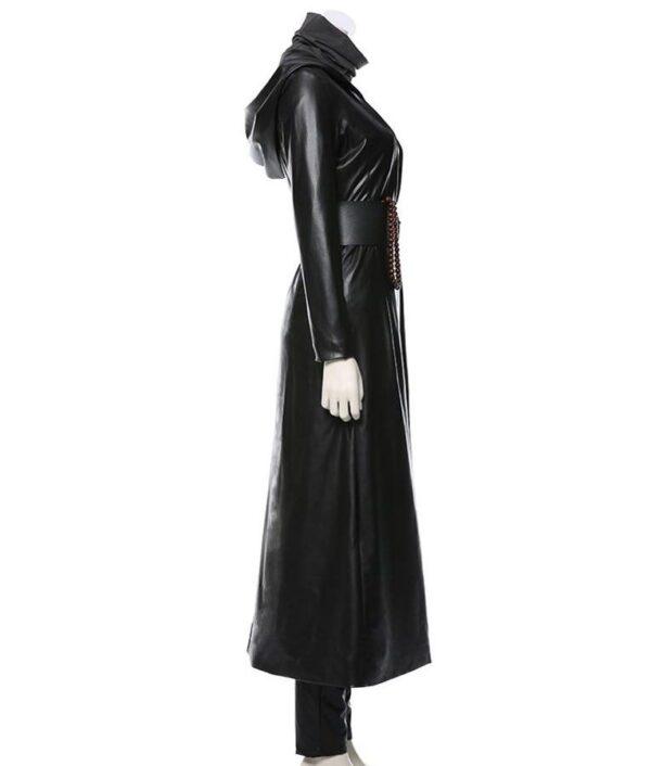 Watchmen Angela Abar Leather Coat
