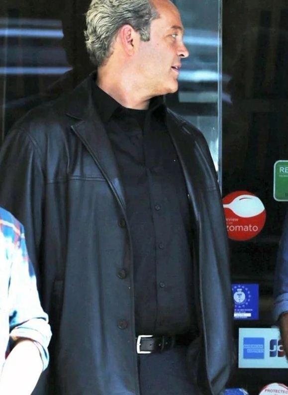 Dragged Across Concrete Anthony Lurasetti Black Jacket