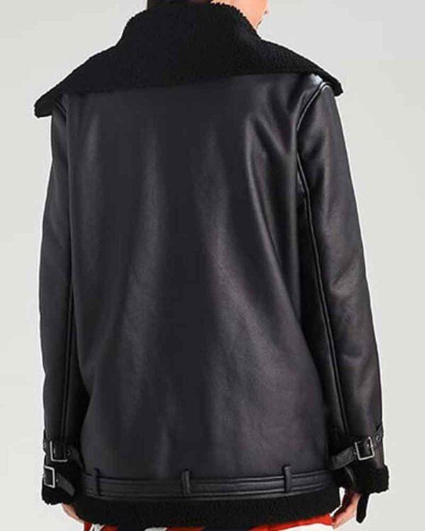 Aviator Womens Shearling Jacket