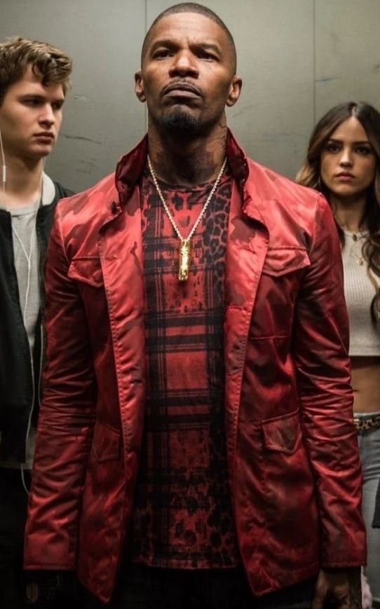 Bats Baby Driver Red Jacket