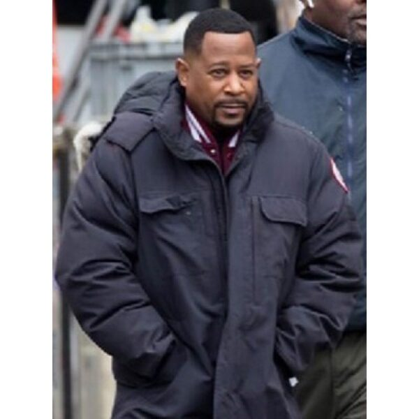 Martin Lawrence Bad Boys for Life Black Coat