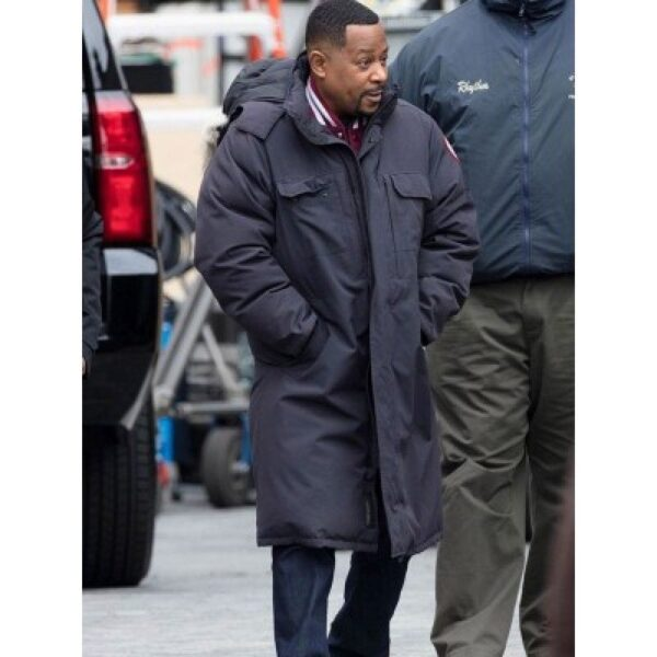 marcus Burnett Bad Boys for Life Black Coat