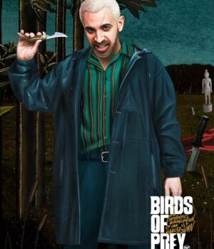Victor Zsasz Birds Of Prey Cotton Coat