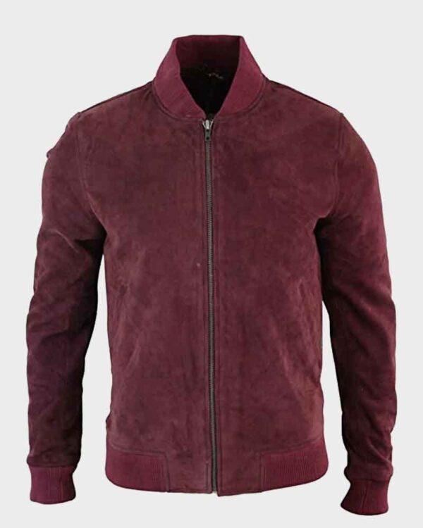 Black Mirror Karl Maroon Jacket