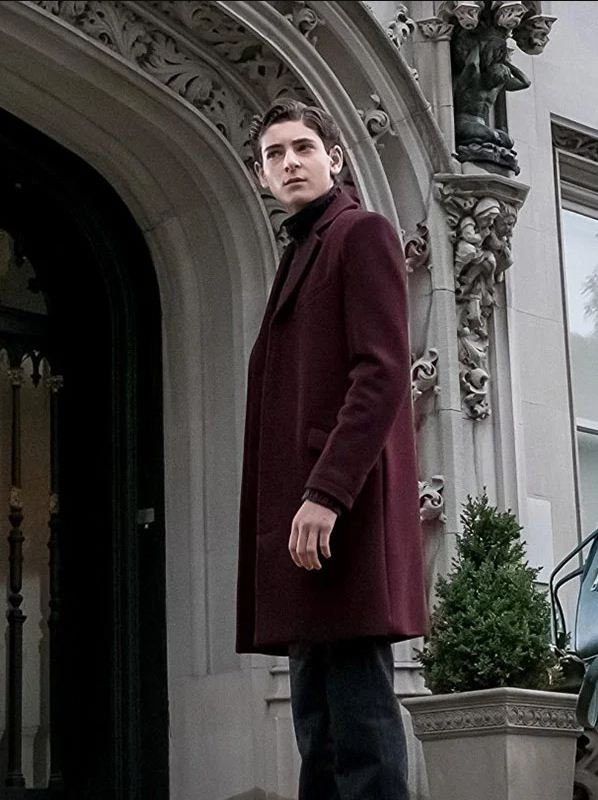 Gotham Bruce Wayne Maroon Coat
