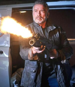 Terminator Dark Fate Carl Black Jacket