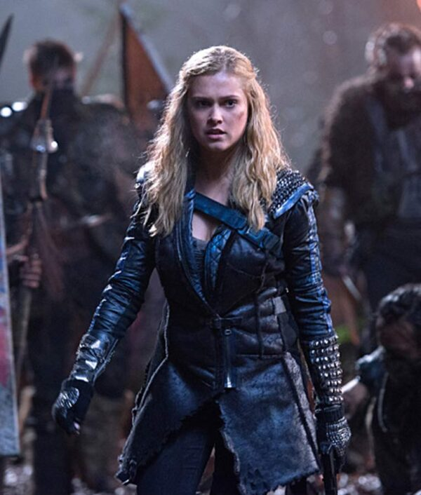 The 100 Clarke Griffin Black Coat