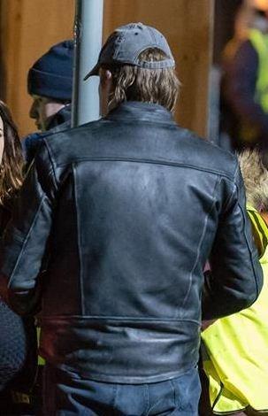 The General Curfew Black Motorcycle Jacket