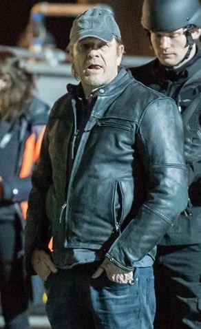 Curfew Sean Bean Black Jacket