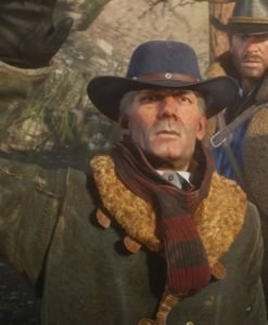 Red Dead Redemption 2 Curzon Dobell Leather Coat