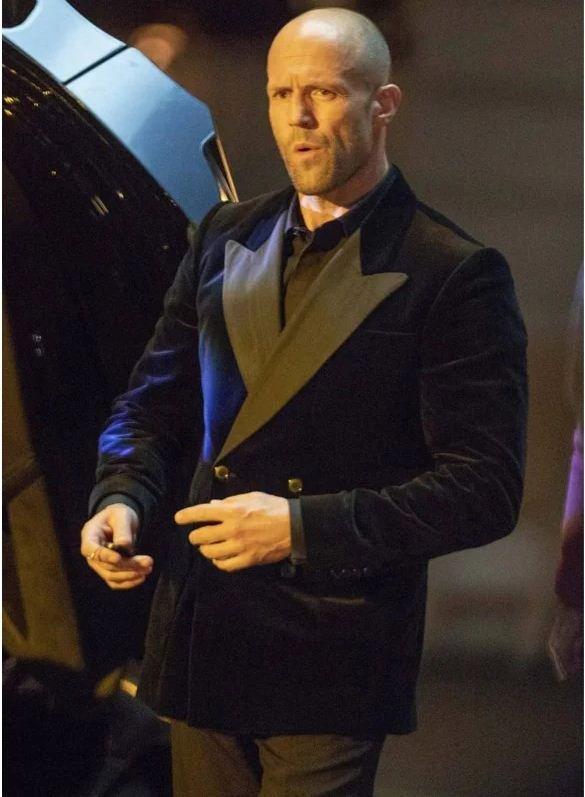 Deckard Shaw Tuxedo blazer