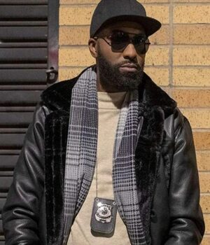 Desus & Mero Desus Nice Leather Black Jacket