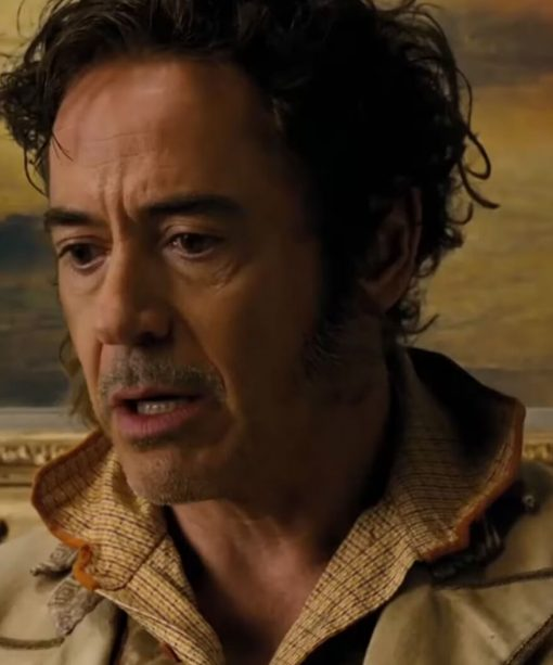 Dolittle Robert Downey Jr. Beige Cotton Coat