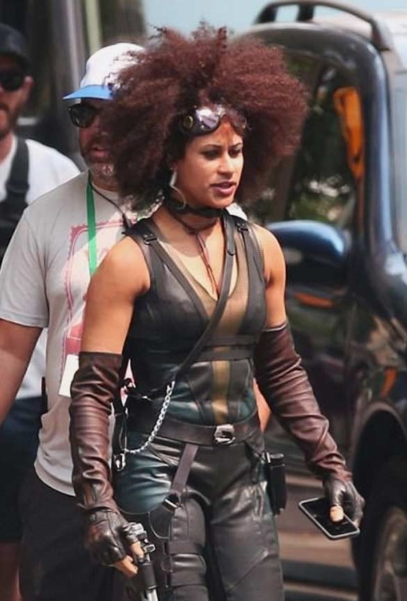 Deadpool 2 Domino Black Vest
