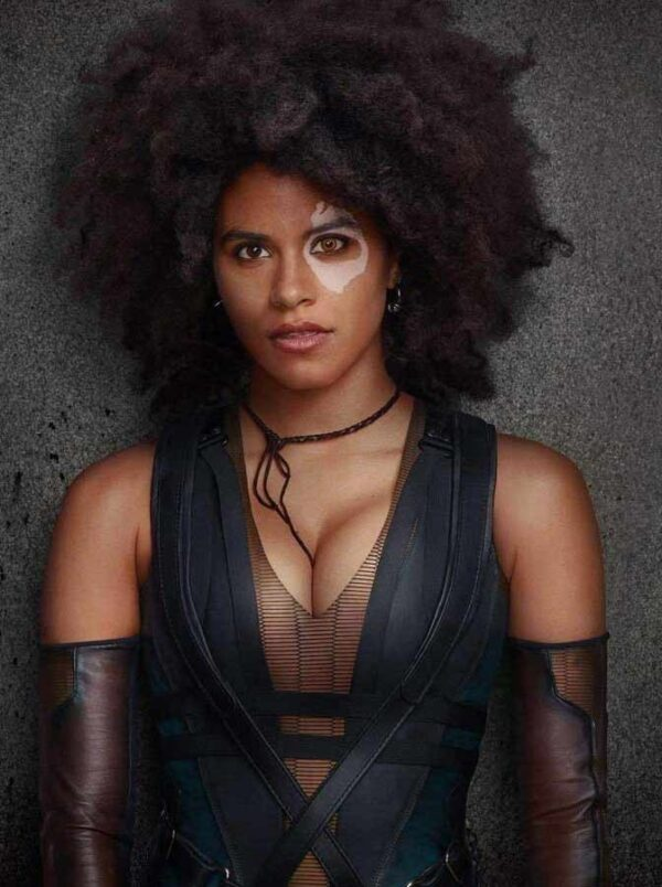 Deadpool 2 Domino Leather Vest