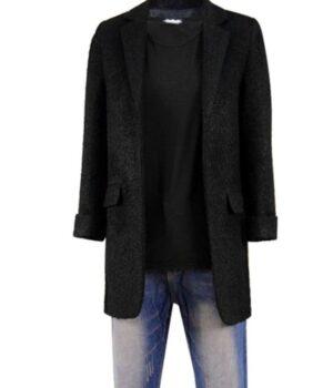 Stranger Things 3 Eleven Black Coat