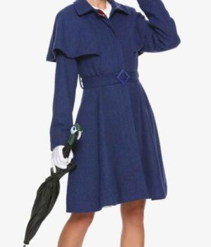 Emily Blunt Mary Poppins Returns Coat