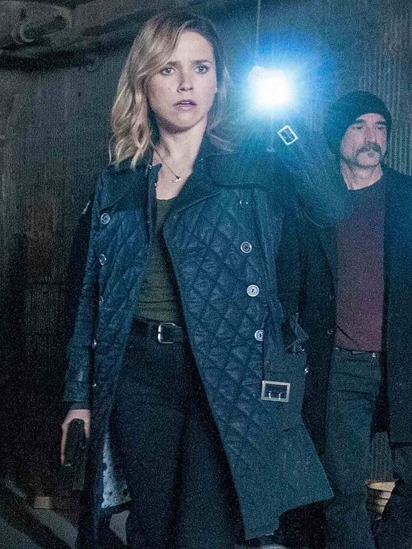 Chicago PD Erin Lindsay Black Coat