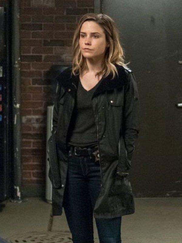 Chicago PD Erin Lindsay Coat