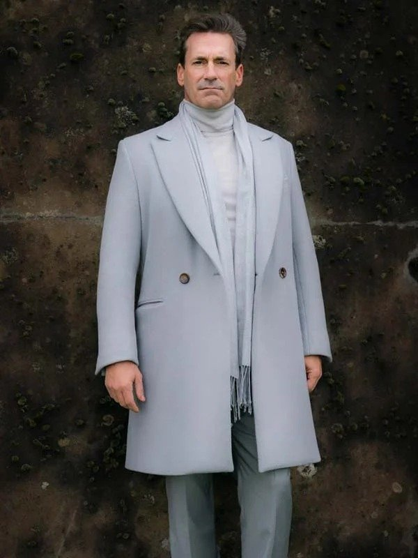 Good Omens Gabriel Grey Coat